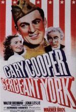 Sergeant York (1941) afişi