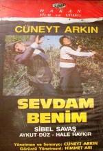 Sevdam Benim (1987) afişi