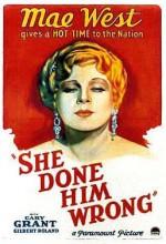 She Done Him Wrong (1933) afişi