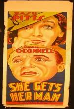 She Gets Her Man (1935) afişi
