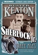 Sherlock Jr. (1924) afişi