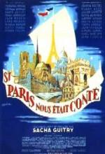 Si Paris Nous était Conté (1956) afişi