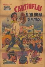 Si Yo Fuera Diputado (1952) afişi