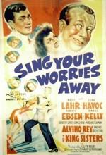 Sing Your Worries Away (1942) afişi