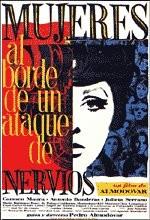 Sinir Krizinin Eşiğindeki Kadınlar (1988) afişi