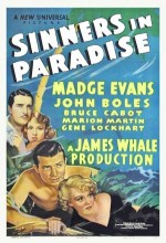 Sinners In Paradise (1938) afişi