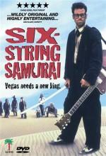 Six-string Samurai (1998) afişi