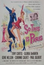 So This ıs Paris (1955) afişi
