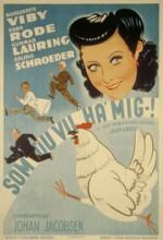 Som Du Vil Ha' Mig (1943) afişi