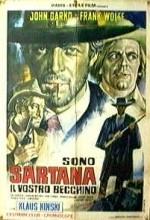 Sono Sartana, Il Vostro Becchino (1969) afişi
