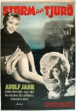 Storm över Tjurö (1954) afişi
