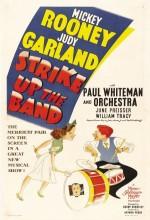 Strike Up The Band (1940) afişi