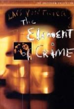 Suç Unsuru (1984) afişi