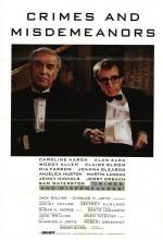 Suçlar Ve Kabahatler (1989) afişi