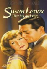 Susan Lenox (1931) afişi