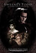 Sweeney Todd: Fleet Sokağının Şeytan Berberi (2007) afişi