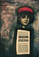 Swiadectwo Urodzenia (1961) afişi