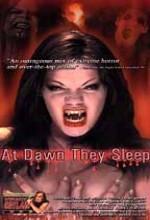At Dawn They Sleep (2000) afişi