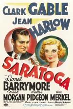 Saratoga (1937) afişi
