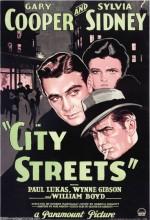 Şehrin Sokakları (1931) afişi