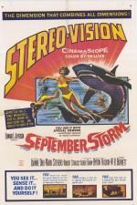 September Storm (1960) afişi