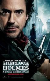 Sherlock Holmes: Gölge Oyunları Afişi