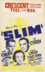 Slim (1937) afişi
