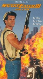 Snake Eater III: His Law (1992) afişi