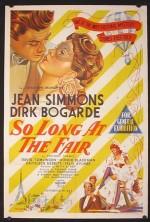 So Long at the Fair (1950) afişi