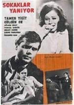 Sokaklar Yanıyor (1965) afişi