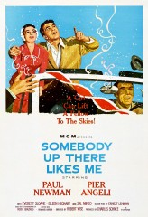 Somebody Up There Likes Me (1956) afişi