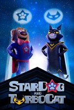 StarDog and TurboCat (2019) afişi