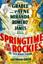 Springtime In The Rockies (1942) afişi