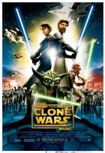 Star Wars: Klon Savaşları (2008) afişi