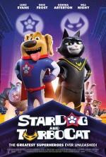 StarDog and TurboCat (2019) afişi