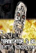T2 3-d: Battle Across Time (1996) afişi