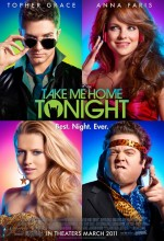 Take Me Home Tonight (2010) afişi