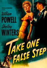 Take One False Step (1949) afişi