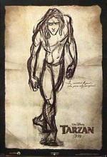Tarzan (1999) afişi