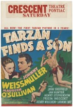 Tarzan Finds A Son! (1939) afişi