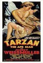 Tarzan The Ape Man (1932) afişi