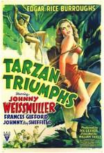 Tarzan Triumphs (1943) afişi