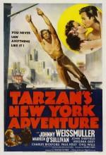 Tarzan's New York Adventure (1942) afişi