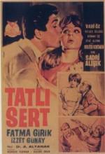 Tatlı Sert (1963) afişi
