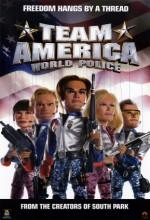 Team America: World Police (2004) afişi