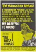 On Küçük Zenci (1965) afişi