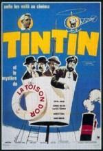 Tenten Ve Altın Post (1961) afişi