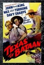 Texas To Bataan (1942) afişi