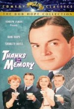 Thanks For The Memory (1938) afişi