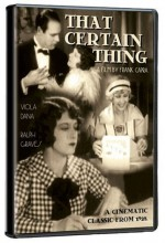 That Certain Thing (1928) afişi